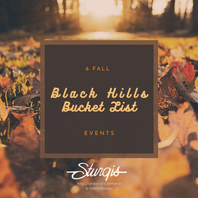 6 Fall Black Hills Bucket List Events