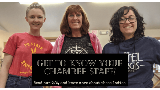 Get to Know Our Chamber Staff!