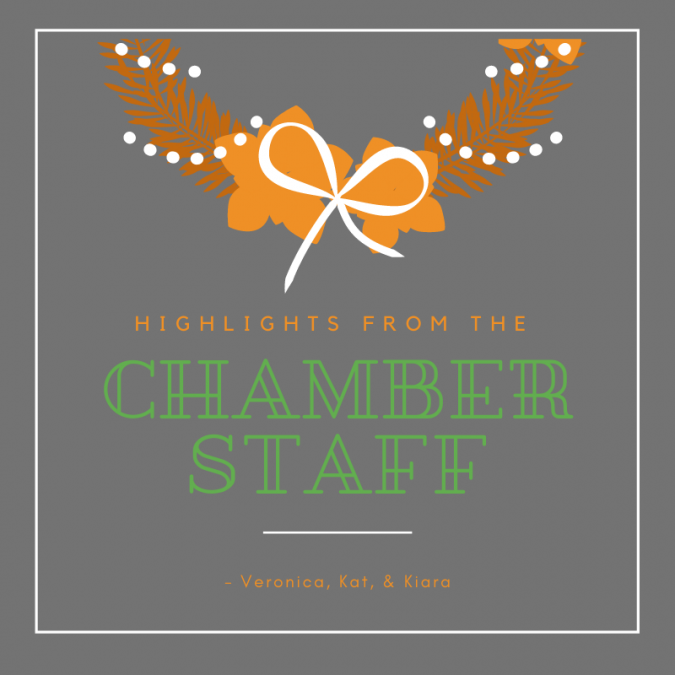 Highlights from the Chamber Staff
