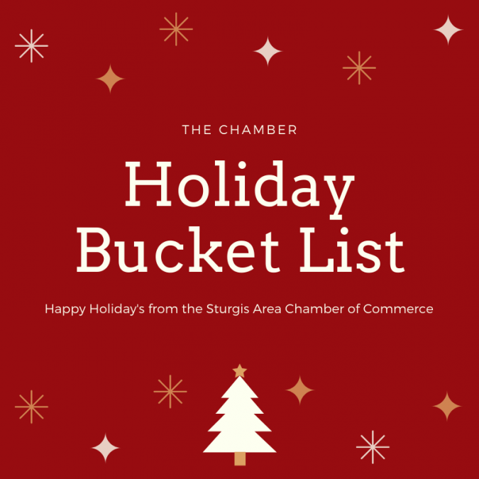 The Chamber Holiday Bucket List.