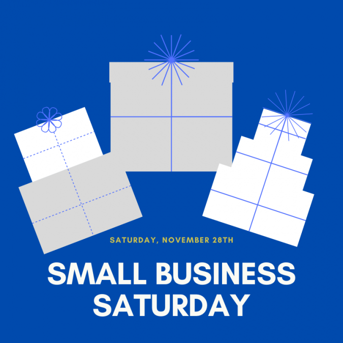 Small Business Saturday is right around the corner!