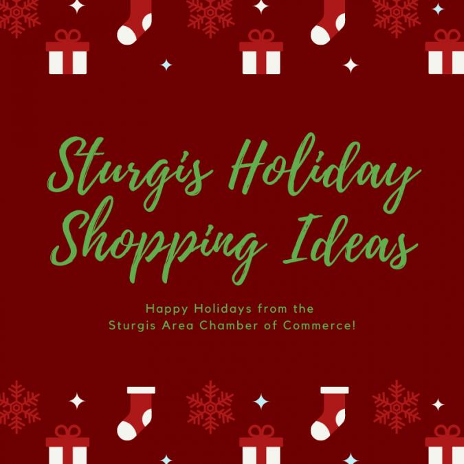 Sturgis Holiday Shopping Ideas
