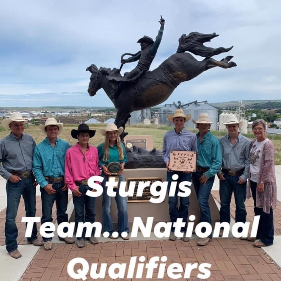 Sturgis High School Rodeo Booster Club Photo