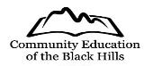 Community Education of the Black Hills Logo