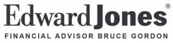 Edward Jones - Bruce Gordon Logo