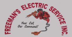 Freeman's Electric Service Logo