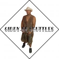 Giddy-Up Shuttles Logo