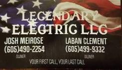 Legendary Electric LLC Logo