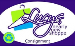 Lucy's Nearly New Logo