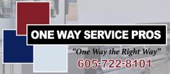 One Way Service Pros Logo