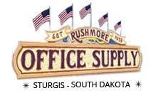 Rushmore Office Supply Logo