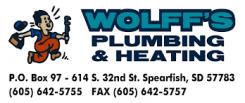 Wolff's Plumbing & Heating Logo